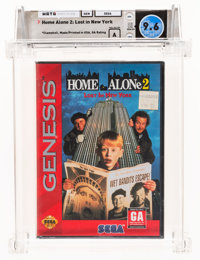 Home Alone 2: Lost in New York - Wata 9.6 A Sealed, GEN Sega 1993 USA