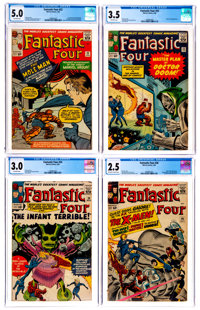 Fantastic Four CGC-Graded Group of 13 (Marvel, 1964-66).... (Total: 13 Comic Books)
