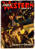 Pulps:Western, Spicy Western Stories - September 1940 (Culture) Condition: Incomplete....