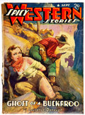 Pulps:Western, Spicy Western Stories - September 1941 (Culture) Condition: Qualified FR/GD....