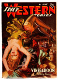 Pulps:Western, Spicy Western Stories - June 1941 (Culture) Condition: FR/GD....