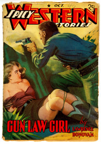 Spicy Western Stories - October 1940 (Culture) Condition: VG-