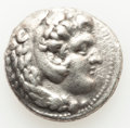 Ancients:Greek, Ancients: MACEDONIAN KINGDOM. Alexander III the Great (336-323 BC). AR tetradrachm (25mm, 16.84 6m, 7h). VF....
