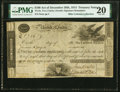 TN-8a $100 Act of December 26, 1814 Treasury Note PMG Very Fine 20