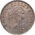 Early Dollars, 1799/8 $1 15 Stars Reverse, B-3, BB-141, R.3, AU58 NGC....