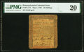 Colonial Notes:Pennsylvania, Pennsylvania May 1, 1760 50s PMG Very Fine 20.. ...