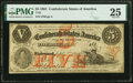 Confederate Notes:1861 Issues, T32 $5 1861 PF-1 CR. 246 PMG Very Fine 25.. ...