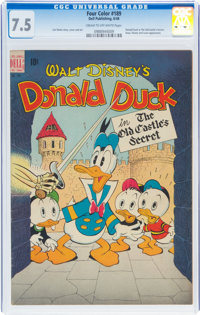 Four Color #189 Donald Duck (Dell, 1948) CGC VF- 7.5 Cream to off-white pages