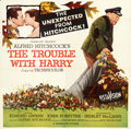 Movie Posters:Hitchcock, The Trouble with Harry (Paramount, 1955). Folded, Very Fin...
