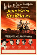 """Movie Posters:Western, The Searchers (Warner Bros., 1956). Folded, Very Fine-. British Double Crown (20"""" X 30"""").. ..."""