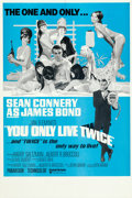"""Movie Posters:James Bond, You Only Live Twice (United Artists, R-1969). Folded, Near Mint. British Double Crown (20"""" X 30"""") Robert McGinnis Artwork.. ..."""