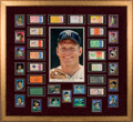 Baseball Collectibles:Tickets, 1952-64 Mickey Mantle World Series Home Runs Ticket Stubs Complete Run Display....