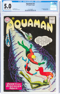 Aquaman #11 (DC, 1963) CGC VG/FN 5.0 Off-white to white pages