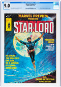 Magazines:Science-Fiction, Marvel Preview #4 Star-Lord (Marvel, 1976) CGC VF/NM 9.0 White pages....