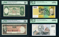 World Currency, Australia Group of 4 PMG and PCGS Graded Notes.. ... (Total: 4 notes)