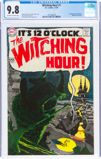 The Witching Hour #1 (DC, 1969) CGC NM/MT 9.8 Off-white to white pages