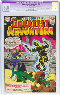 My Greatest Adventure #80 (DC, 1963) CGC Apparent FN 6.0 Moderate (C-2) Off-white to white pages
