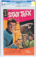 Silver Age (1956-1969):Science Fiction, Star Trek #1 (Gold Key, 1967) CGC FN 6.0 White pages....