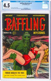 Baffling Mysteries #7 (Ace, 1952) CGC VG+ 4.5 Off-white to white pages