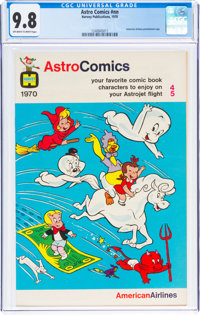 Astro Comics #nn (Harvey, 1970) CGC NM/MT 9.8 Off-white to white pages
