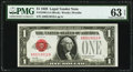 Small Size:Legal Tender Notes, Fr. 1500 $1 1928 Legal Tender Note. PMG Choice Uncirculated 63 EPQ.. ...