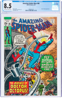 The Amazing Spider-Man #88 (Marvel, 1970) CGC VF+ 8.5 Off-white to white pages