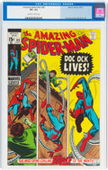 Bronze Age (1970-1979):Superhero, The Amazing Spider-Man #89 (Marvel, 1970) CGC VF+ 8.5 Off-white to white pages....