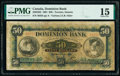 World Currency, Canada Toronto, ON- Dominion Bank $50 2.7.1901 Ch.# 220-22-02 PMG Choice Fine 15.. ...
