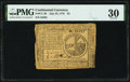 Continental Currency July 22, 1776 $2 PMG Very Fine 30