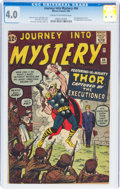 Silver Age (1956-1969):Superhero, Journey Into Mystery #84 (Marvel, 1962) CGC VG 4.0 Cream to off-white pages....