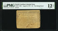 Colonial Notes:North Carolina, North Carolina August 8, 1778 $5 The Rising States PMG Fine 12 Net.. ...