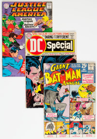 DC Silver and Bronze Age Comics Group of 12 (DC, 1963-70) Condition: Average VG+.... (Total: 12 Comic Books)