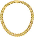 Estate Jewelry:Necklaces, Gold Necklace . ...