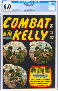Combat Kelly #5 (Atlas, 1952) CGC FN 6.0 Cream to off-white pages