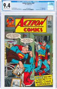 Action Comics #397 (DC, 1971) CGC NM 9.4 Off-white to white pages