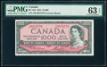 World Currency, Canada Bank of Canada $1000 1954 BC-44d PMG Choice Uncirculated 63 EPQ.. ...