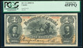 Canada Dominion of Canada $1 31.3.1898 DC-13c PCGS Extremely Fine 45PPQ