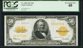 Large Size:Gold Certificates, Fr. 1200 $50 1922 Gold Certificate PCGS Extremely Fine 40.. ...