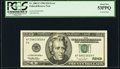 Error Notes:Inverted Reverses, Inverted Back Error Fr. 2083-F $20 1996 Federal Reserve Note. PCGS About New 53PPQ.. ...