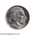 Buffalo Nickels: , 1917 5C MS67 NGC. A bold striking that incorporates ...