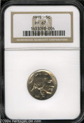 Proof Buffalo Nickels: , 1915 5C PR67 NGC. Normally sharp for the issue, this high ...