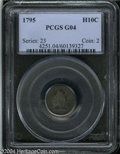 Early Half Dimes: , 1795 H10C Good 4 PCGS. V-4, LM-10, R.3. The final star ...