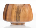 Carvings, Philip Moulthrop (American, b. 1947). Bowl. Figured tulipwood. 8-3/4 x 12-1/2 x 12-1/2 inches (22.2 x 31.8 x 31.8 cm). S...