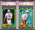 Football Cards:Sets, 1986 Topps Football Complete Set (396). ...