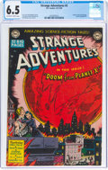 Golden Age (1938-1955):Science Fiction, Strange Adventures #2 (DC, 1950) CGC FN+ 6.5 Off-white to white pages....