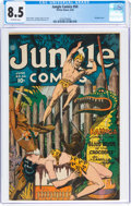 Jungle Comics #54 (Fiction House, 1944) CGC VF+ 8.5 Off-white pages