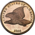 Proof Flying Eagle Cents, 1856 1C Snow-3 PR65+ PCGS....