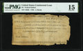 Colonial Notes:Continental Congress Issues, Continental Congress Federal Indent Anderson 167 $4 PMG Choice Fine 15.. ...