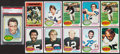 Football Cards:Lots, 1976 Topps Football Collection (660+). ...