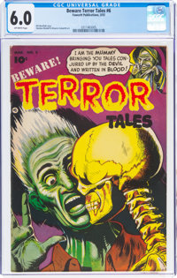 Beware Terror Tales #6 (Fawcett Publications, 1953) CGC FN 6.0 Off-white pages
